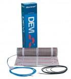 Теплый пол DEVImat (2,5 м2). Греющий мат под плитку DTIF-150