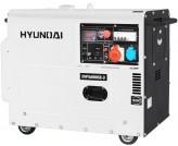 Трехфазная электростанция Hyundai DHY 6000SE-3