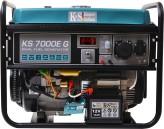 Гибридный генератор Könner&Söhnen KS 7000E G (газ/бензин)