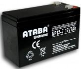 Аккумуляторная батарея ATABA Ukraine NP 12-7