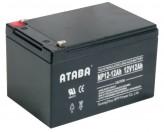 Аккумуляторная батарея ATABA Ukraine NP 12-12