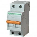 Автоматический выключатель ВА63 1П+Н 25A C (Домовой)