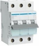 Автоматический выключатель Hager In=4А,3п,С,6kA (MC304A)