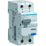 Диф выключатель Hager 1+N,4,5kA,С-16A,30mA,AС (AD866J)