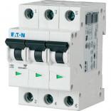 Автоматический выключатель Eaton PL4-C16/3