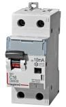 Дифавтомат DX³ 1П+Н,C,10A,30mA-AC (411000)