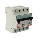 Дифавтомат DX³ 4П,C,10A,300mA-AC (411204)