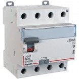 Дифреле (УЗО) DX³ 4П,80A,100mA -AC (411715)