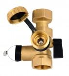 Клапан для подключения расширительного бака с краном KFE (77950)