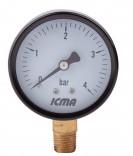 Манометр ICMA 91244АВ10 (диаметр 63 мм.)