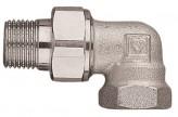 Угловая муфта быстроразъемная радиаторная Herz DN15