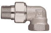 Угловая муфта быстроразъемная радиаторная Herz DN20