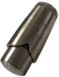 Термостатическая головка Schlosser Brillant Dz  (клипса) Стальной