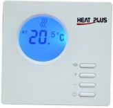 Недельный терморегулятор для теплого пола Heat Plus BHT-100 white