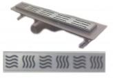 Душевой канал под плитку NOVA 5206.003N (длина 90см., решетка из нержавейки)