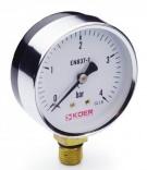 Манометр радиальный KM.610R (0-4 бар)