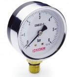 Манометр радиальный KM.610R (0-6 бар)