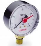 Манометр радиальный KM.621R (0-4 бар)