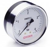 Манометр аксиальный KM.611A (0-4 бар)