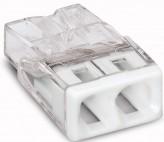 Wago Самозажимная клемма для распред. коробок Wago Compact 2x2,5 (2273-202)