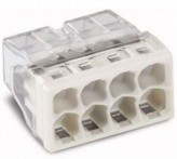 Wago Самозажимная клемма для распред. коробок Wago Compact 8x2,5 (2273-208)