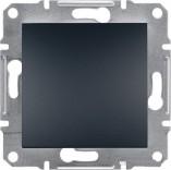 Schneider Electric Выключатель одноклавишный Schneider Asfora Plus антрацит (EPH0100171)