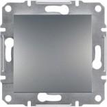 Schneider Electric Выключатель одноклавишный Schneider Asfora Plus сталь (EPH0100162)