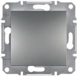 Переключатель перекрестный одноклавишный Schneider Asfora Plus сталь (EPH0500162)