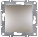 Переключатель перекрестный одноклавишный Schneider Asfora Plus бронза (EPH0500169)