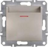 Выключатель карточный Schneider Asfora Plus бронза (EPH6200169)