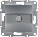 Розетка конечная TV (1 dB) Schneider Asfora Plus сталь (EPH3200162)