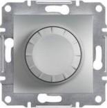 Светорегулятор проходной 600 BA Schneider Asfora Plus сталь (EPH6400162)