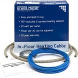 Греющий кабель в стяжку Grand Meyer THC20-10 (0,9-1,4 м2)