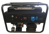 Hyundai Бензиновый генератор Hyundai HY12500LE-3