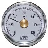 Термометр Cewal BRC 63 VI (Ø63 0/120°С)