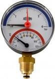 Радиальный термоманометр Arthermo (TI110800-4Bar0-120°C)