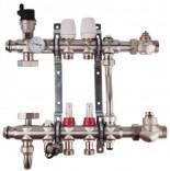 Коллекторная группа для теплого пола SD Forte SFE0013 (3 контура)