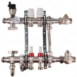 Коллекторная группа для теплого пола SD Forte SFE0015 (5 контуров)
