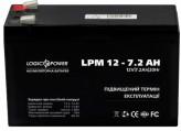 Аккумуляторная батарея LogicPower AGM LPM 12 - 7.2 AH