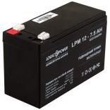 Аккумуляторная батарея LogicPower AGM LPM 12 - 7.5 AH