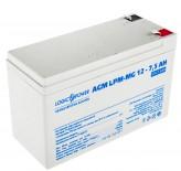 Аккумуляторная батарея LogicPower AGM LPM-MG 12 - 7.5 AH