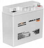 Аккумуляторная батарея LogicPower LPM-GL 12V - 20 AH