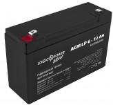 Аккумуляторная батарея LogicPower AGM LP 6-12 AH SILVER