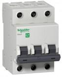 Автоматический выключатель EZ9 3P 63A X-KA C (Easy 9)