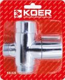 Переключатель для душа Koer KR.525 (Луна)