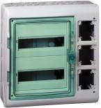 Навесной электрощит Schneider Electric Kaedra 24 мод. + 3 отв. с интерф.(13991)