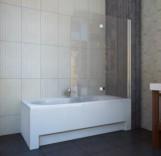 Шторка для ванны Koller Pool QP97(right) chrome grape 1150х1400