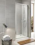 Распашная душевая дверь Koller Pool Aqua Line Neon ND90G (900х1900 мм) матовое стекло