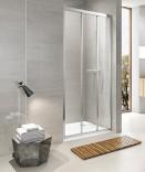 Раздвижная душевая дверь Koller Pool Aqua Line Trend TT90G (900х1900 мм) матовое стекло