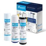 Комплект картриджей для тройных фильтров Ecosoft